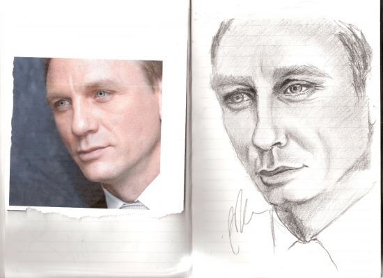 Daniel Craig by sharmaine